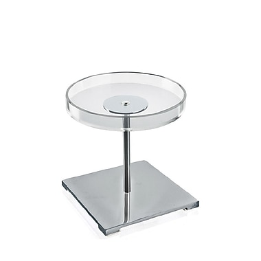 Azar Displays Acrylic & Chrome Counter Disc Display