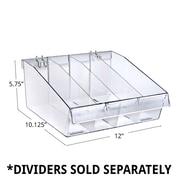 Azar Deep Clear Divider Bins