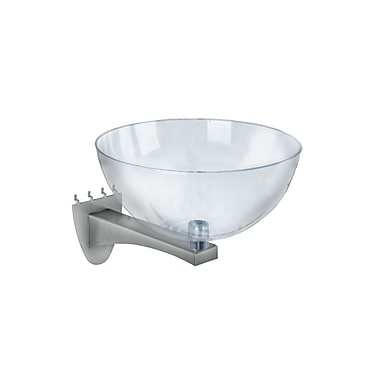 Azar Clear Hanging Bowl Display, 14