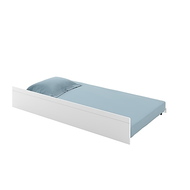 CorLiving BAF-310-P Ashland Trundle Bed, Snow White