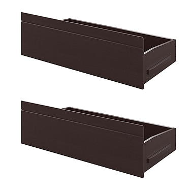 CorLiving BAF-390-A Ashland Bed Storage Drawers, Dark Cappuccino