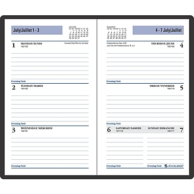 DayMinder® 2016/2017 Weekly Pocket Planner, 3-1/2