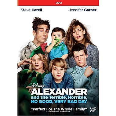 Alexander and the Terrible, Horrible, No Good, Very Bad Day (DVD), anglais