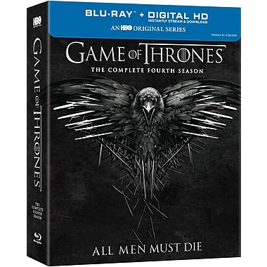 Game of Thrones (Le trône de fer) : Saison 4 (Blu-ray), anglais