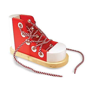 Melissa & Doug Wood Lacing Sneaker