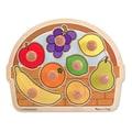 Melissa & Doug Fruit Basket Jumbo Knob Puzzle