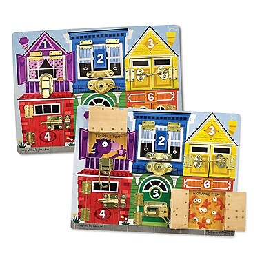 Melissa & Doug Deluxe Latches Board