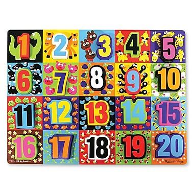 Melissa & Doug Jumbo Chunky Puzzle, Numbers