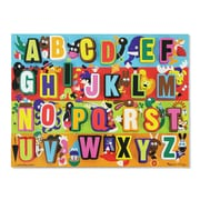 Melissa & Doug Jumbo Chunky Puzzle, ABC