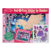 Melissa & Doug Peel & Press Sticker by Numbers 11.5 x 15.5 inch