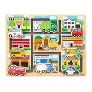 Melissa & Doug Vehicles Maze Puzzle