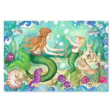 Melissa & Doug Mermaid Playground Floor Puzzle