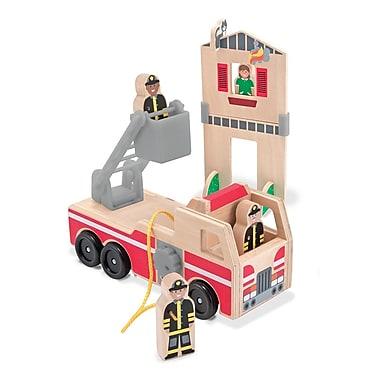 Melissa & Doug Whittle World Fire Rescue Set