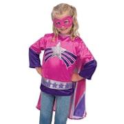 Melissa & Doug Super Hero Girl Role Play Costume Set