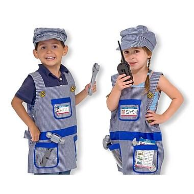 Melissa & Doug Train Engineer Role Play Costume Set