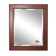 Rayne Mirrors Jovie Jane Western Rope Wall Mirror; 35'' H x 29'' W x 1.25'' D