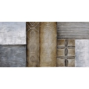 Empire Art Direct ''Stacked 1'' Textured Metallic by Martin Edwards Original Painting
