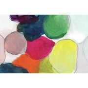 Empire Art Direct ''The Party Abstract'' Frameless Free Floating Tempered Glass Panel Painting Print