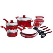 Basic Essentials Aluminum 17 Piece Cookware Set
