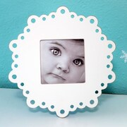Heart to Heart Lace Square Picture Frame