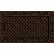 Apache Mills Textures Iron Lattice Doormat; 1'6'' x 2'6''