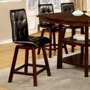 Hokku Designs Williams 25.5'' Bar Stool with Cushion (Set of 2)