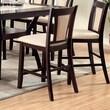 Hokku Designs Bari Counter Height Side Chair (Set of 2); Ivory