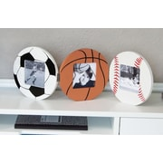 Heart to Heart Wooden Triple Hinged Sports Picture Frame