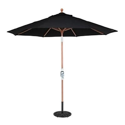 Galtech 9' Market Umbrella; Canvas WYF078277570313