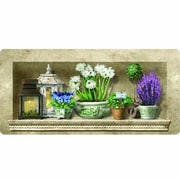 Apache Mills Cushion Comfort Herb Floral Mat