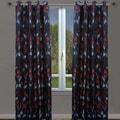 LJ Home Sansa Jacquard Curtain Panel (Set of 2)
