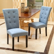 Home Loft Concept Palermo Parsons Chair (Set of 2); Denim Blue