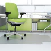 Deflect-o EnvironMat  Hard Floor Chair Mat; 0.63'' H x 45'' W x 53'' D
