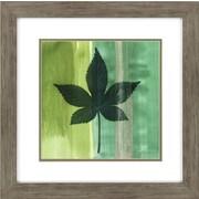 Propac Images Silver Leaf Tile 3 Piece Framed Graphic Art Set