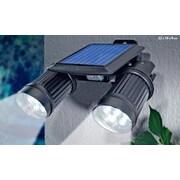 Sintechno Inc Solar Powered Security Two Super Bright Spotlight