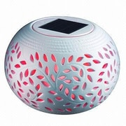 Sintechno Inc Solar Powered Bowl Lamp with Color Changing LED