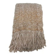 Bedford Cottage-Kennebunk Home Campbell Woven Throw Blanket; Oatmeal