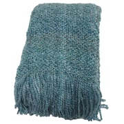 Bedford Cottage-Kennebunk Home Campbell Woven Throw Blanket; Seamist