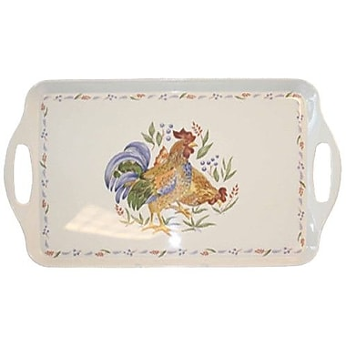 Corelle Impressions Country Morning Melamine Rectangular Serving Platter