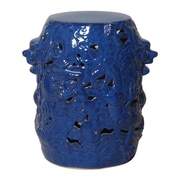 Emissary Dragon Stool; Blue