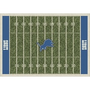 Milliken NFL Team Home Field Detroit Lions Novelty Rug; 7'8'' x 10'9''