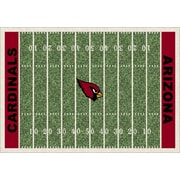 Milliken NFL Team Home Field Arizona Cardinals Novelty Rug; 7'8'' x 10'9''