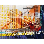 TAF DECOR Art-For-You NY Urban 12 Graphic Art on Wrapped Canvas
