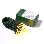 Vickerman Wide Angle Timer Sensor 35 LED Light Set; Warm White