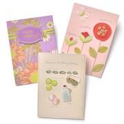 Gartner Greetings Premium Greeting Cards, 3 pack - Delightful Birthday