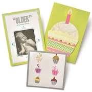 Gartner Greetings Premium Greeting Cards, 3 pack - Birthday