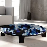 TAF DECOR Touch Paint 1 Coffee Table; 36'' (Diameter)
