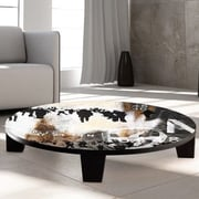TAF DECOR Walk on By Coffee Table; 36'' (Diameter)