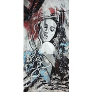 TAF DECOR Gentle, Her Ways by Erik DeAndre  Graphic Art on Wrapped Canvas