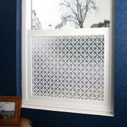Odhams Press Fleur Privacy Window Film; 36'' x 48''